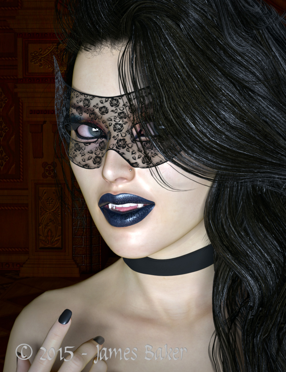 Vampire (test) by odhinnsrunes