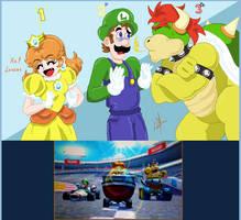 Oh yeah, I won - MK7 by Luigi-GS