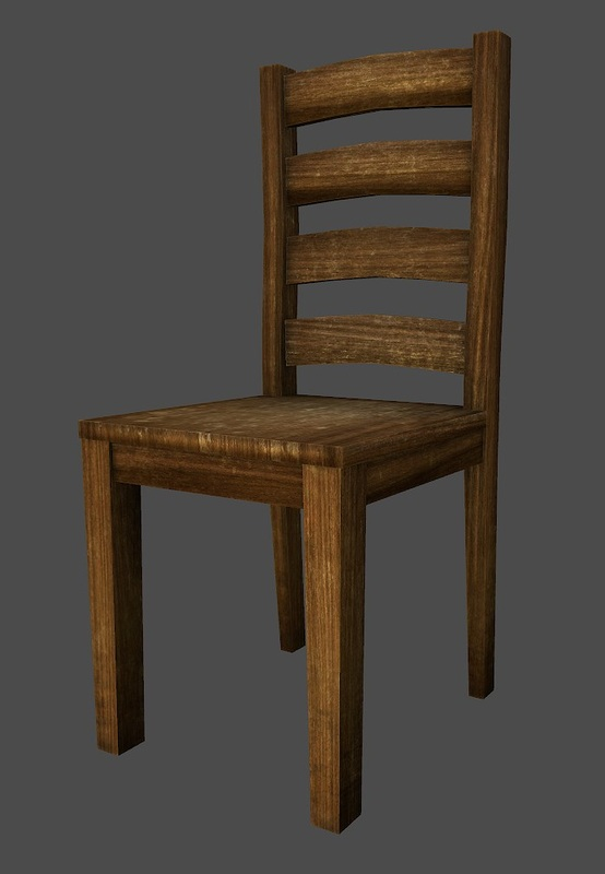 Low Poly Chair By Plk4 ...