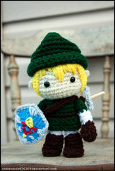 Legend of Zelda Link amigurumi by Angie-Chan070707