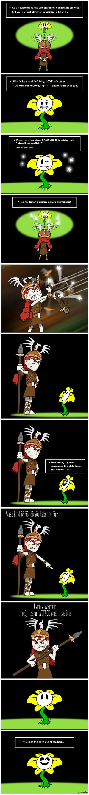 Wigfrid in Undertale - page 2 by Arrog-Ent-Alien