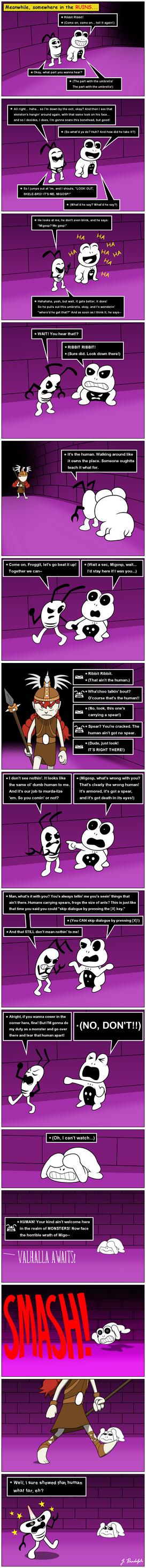 Wigfrid in Undertale - page 11 by Arrog-Ent-Alien