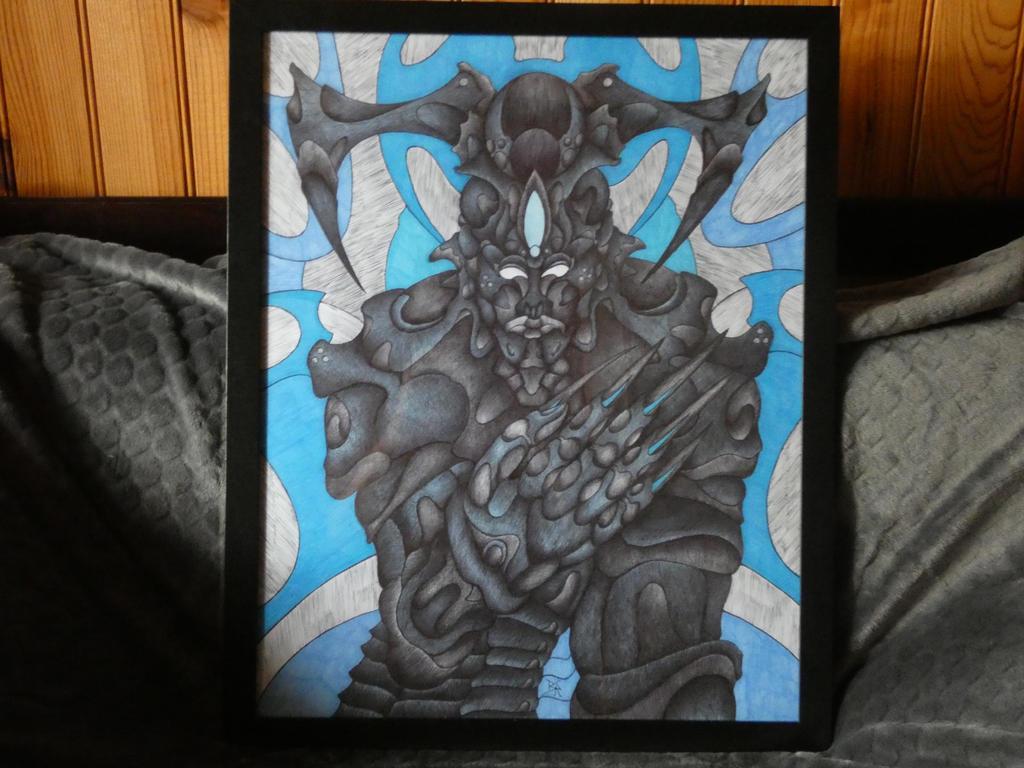 Psychoziss Bleu spirit by sebastienbruchier