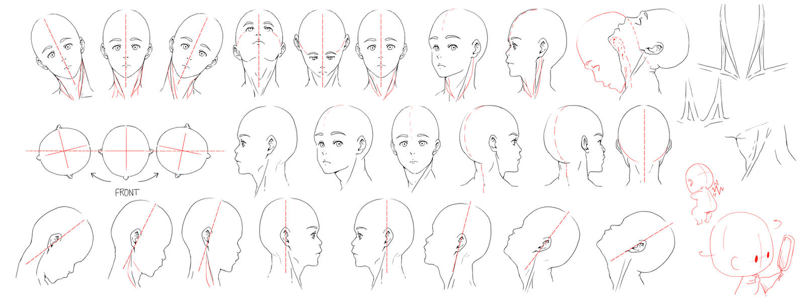 how to draw neck and shoulders male