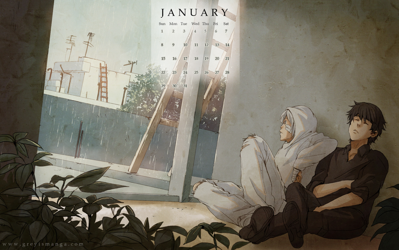 Grey is: January 2012 by deeJuusan