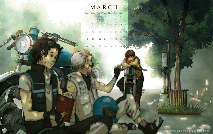 Grey is: March 2012 by deeJuusan