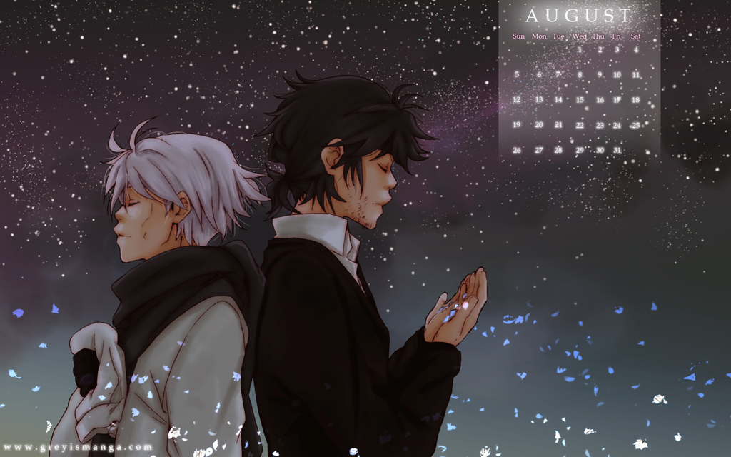 Grey is: August 2012 by deeJuusan