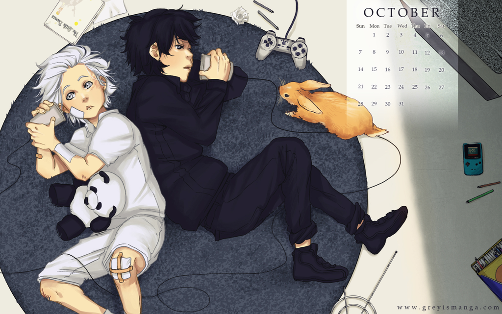 Grey is: October 2012 by deeJuusan