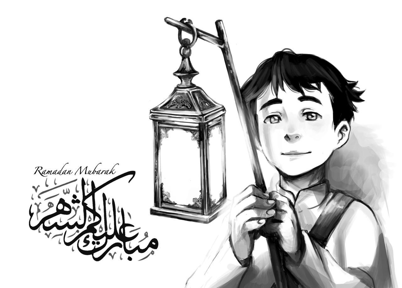 صور انمي رمضان ramadan_mubarak_1434