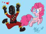 Pinkie Pie and Pyro