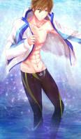 Free!: Tachibana Makoto by PunksGoneDaft