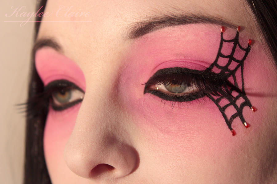 Goth Makeup Close Up by KayleeClaire on DeviantArt