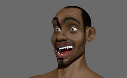 Epression of character Tonka 2014 by tiagomanga