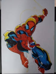 Spider Man in progress pt-2 by tiagomanga