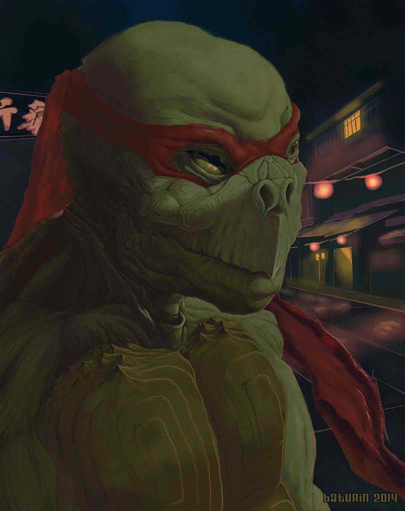 TMNT: Raphael by Sheym