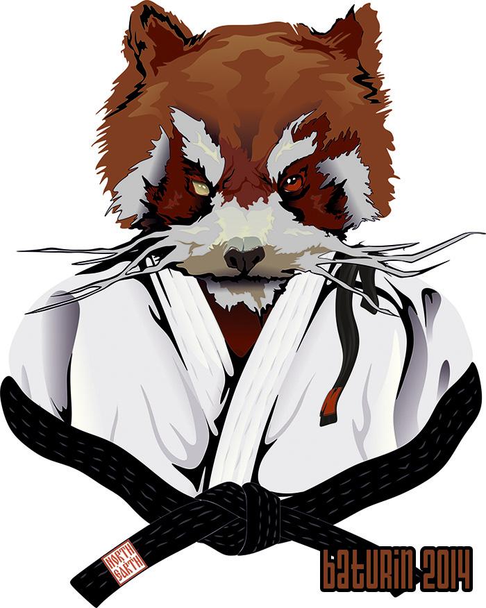 Bjj panda by Sheym