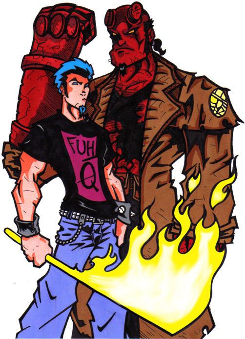 James Riot-Hellboy v 2.0 by JamesRiot
