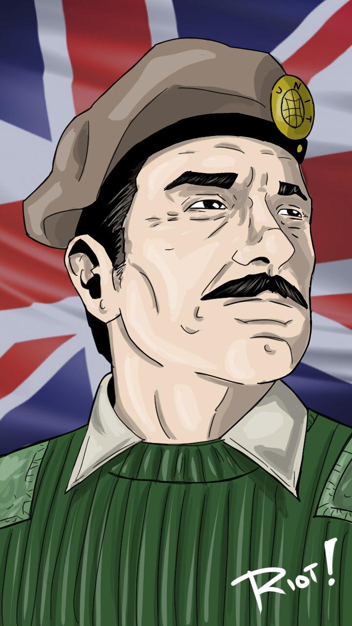 Brigadier Sir Alistair Gordon Lethbridge-Stewart by JamesRiot