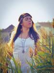 Indian Lady 3 by HammettLady