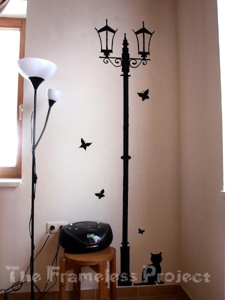 Indoor street lamp by shezarine