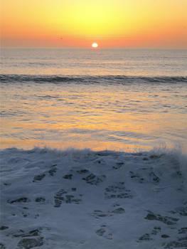 Sunset on Pacific Beach