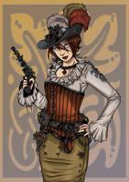 Steampunk Zoe by ZoeStead