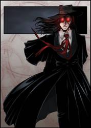 Hellsing's Alucard by ZoeStead