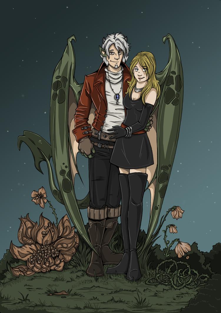 Midnight in the Garden by ZoeStead