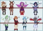Gijinka adopt - Pokebirds 1 (lost files)