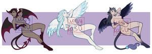 (CLOSED) Demon/Angel adopts 1-34