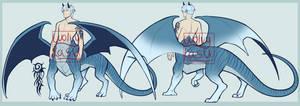 (SOLD) Dragon taur adopt 1-36