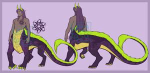 (CLOSED) Dragon taur adopt 1-37