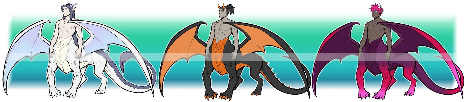 (OPEN) Dragon taurs adopts 2-04