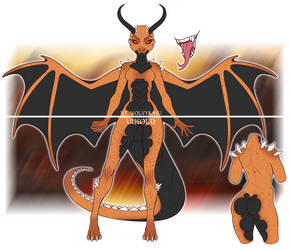(CLOSED) Fire dragoness adopt 2-06