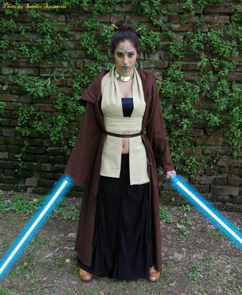 Star wars sexy jedi girls cosplay are