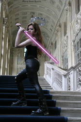 Mara Jade in Turin 2 by Darthsandr