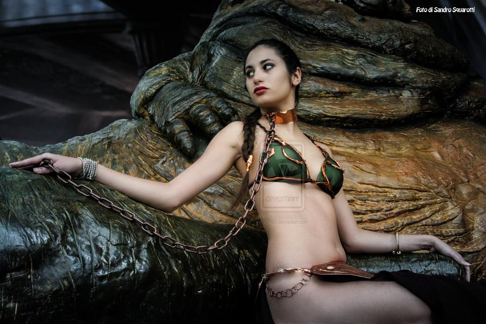 Leia And Jabba 46 By Darthsandr On DeviantArt
