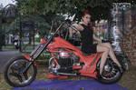 Biker Girl 186
