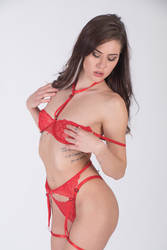 Red lingerie for Vale 03