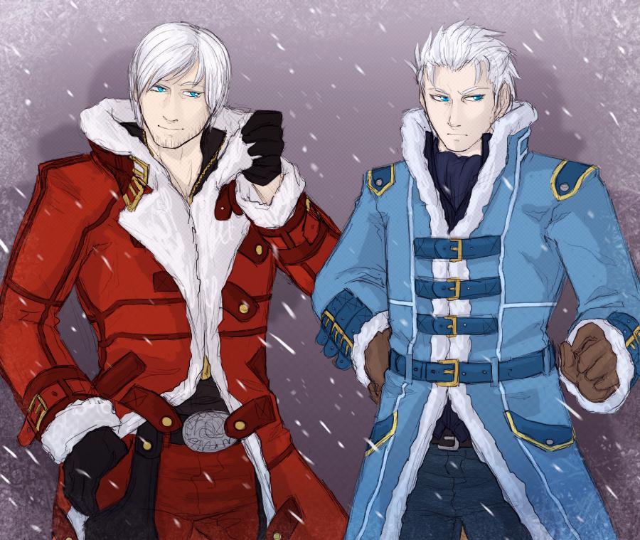 Dante And Vergil By Sparkleee-Sprinkle On DeviantArt