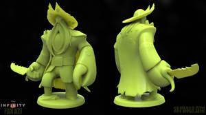 Davy Jones Disney Infinity fan art