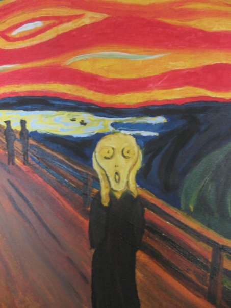 The Scream - Munch by Aleiino