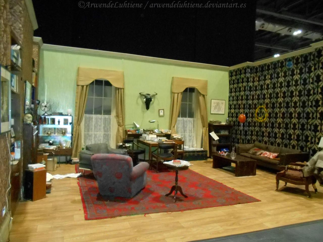 221b Living Room Set At Sherlocked By Arwendeluhtiene On