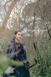 Elven ranger professional shoot -VIII by ArwendeLuhtiene