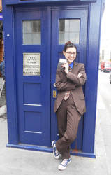 Tenth Doctor cosplay in London - IX by ArwendeLuhtiene
