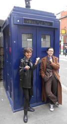 Nine and Ten meet in London by ArwendeLuhtiene