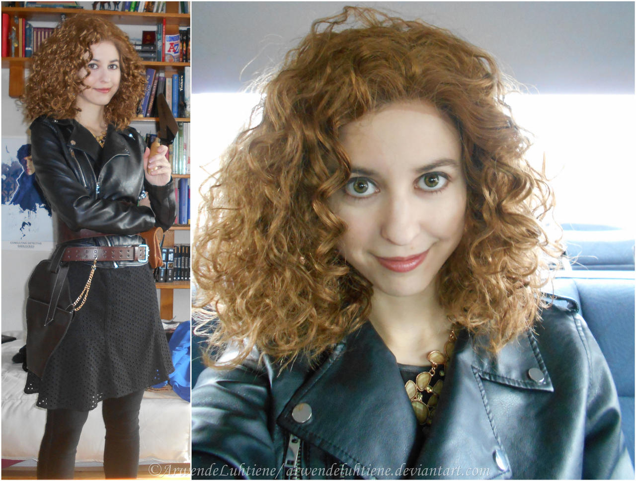 River Song Christmas special cosplay - tests by ArwendeLuhtiene on ...