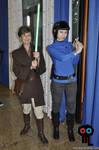 Spock and Jedi Tarma at Cifimad 2017 - II