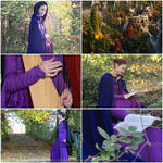 Cosplay aesthetic - Rivendell Elf (purple dress) by ArwendeLuhtiene