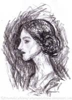 Tolkien women - Beorian wise-woman by ArwendeLuhtiene